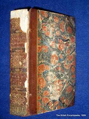 The British Encyclopedia, Vol IV only, Irr to Nic. Dictionary of Arts & Sciences. (includes ...