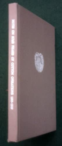 Notes on Some Phases of Cotton Operations. 1905-1929. Signed By Author.: Clayton, Benjamin