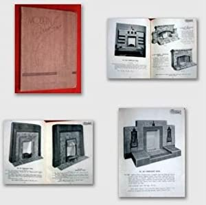 Carron Company of Falkirk MODERN FIREPLACES 1937 Catalogue & Price List.: Carron Company