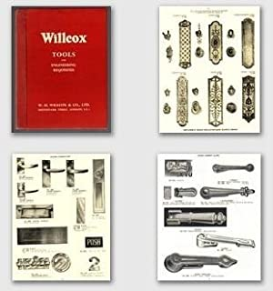 Willcox's House for Engineers Tools and Engineering Requisites Section Catalogue C1960.
