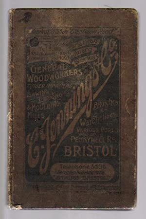 C.JENNING & Co Ltd of Bristol, England, General Woodworkers, Timber Importers, Etc, 1st March ...
