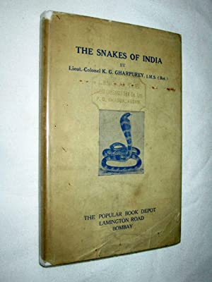 The Snakes of India.: Charpurey Lt. Col. K.G.