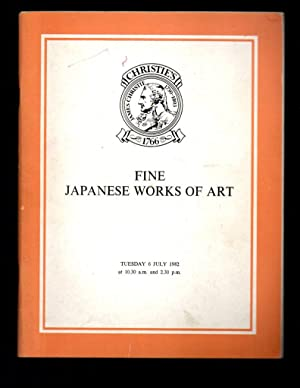 Fine Japanese Works of Art. 6 July: Christie's, Christie, Manson