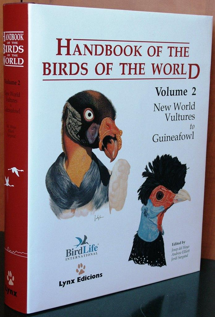 handbook of the birds of the world pdf