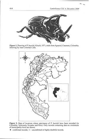 New records and distributional range extension for Phanaeus haroldi Kirsch, 1871 (Coleoptera : ...