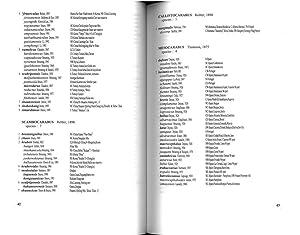 The check-list of the genus Carabus (Coleoptera : Carabidae): BREZINA Boleslav