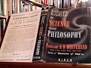 Essays in Science and Philosophy: Whitehead, A. N.