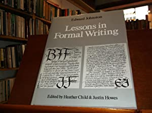 Lessons in Formal Writing: Johnston, Edward
