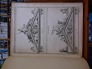 """Plates from """"De la Distribution des Maisons"""""""
