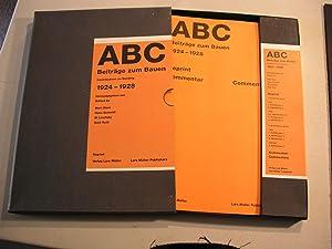 ABC: Contributions On Building: 1924 - 1928: STAM, MART; EL