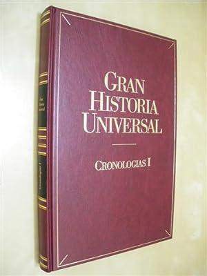 CRONOLOGÍAS I. GRAN HISTORIA UNIVERSAL. CRONOLOGÍA UNIVERSAL: PEDRO SÁNCHEZ TORRENTE