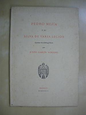 PEDRO MEJIA Y SU SILVA DE VARIA: JUSTO GARCIA SORIANO