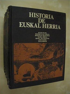 HISTORIA DE EUSKAL HERRIA. (7 TOMOS): JULIO EYARA - RAFAEL LOPEZ - JOSEBA AGIRREAZKUENAGA - ROMAN ...