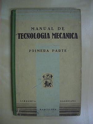 MANUAL DE TECNOLOGIA MECANICA: E. P. S.