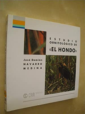 ESTUDIO ORNITOLOGICO DE EL HONDO: JOSE DAMIAN NAVARRO MEDINA