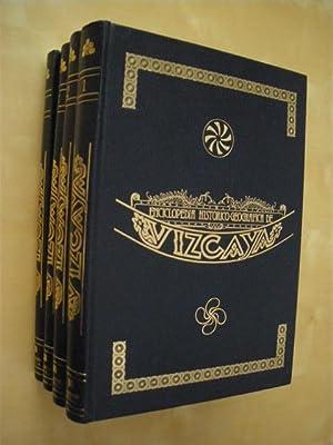 ENCICLOPEDIA HISTORICO-GEOGRAFICA DE VIZCAYA. (4 TOMOS). COMPLETO: JOSE MIGUEL DE BARANDIARÁN - ...