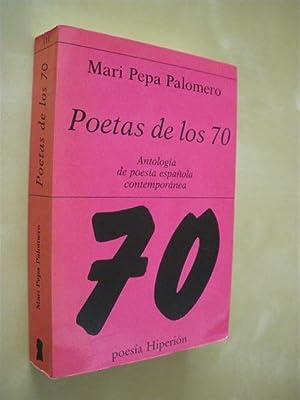 POETAS DE LOS 70: MARI PEPA PALOMERO