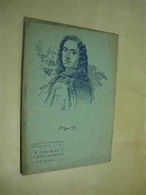 J. B. PERGOLESI Y LA SERVA PADRONA: JOSE SUBIRÁ