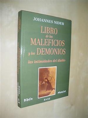 LIBRO DE LOS MALEFICIOS Y LOS DEMONIOS.: JOHANNES NIDER