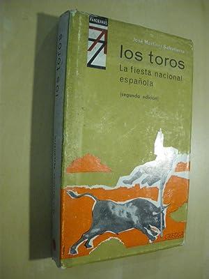 LOS TOROS, LA FIESTA NACIONAL ESPAÑOLA: JOSE MARTINEZ SALVATIERRA