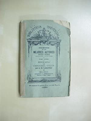 BIOGRAFIA DE CRISTOBAL COLON: ALFONSO DE LAMARTINE