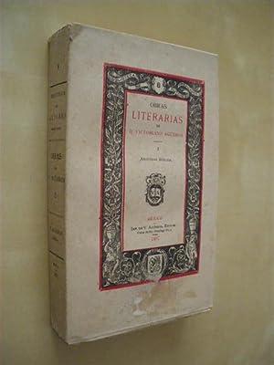 BIBLIOTECA DE AUTORES MEXICANOS Nº8 TOMO I.: VICTORIANO AGÜEROS
