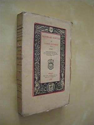 BIBLIOTECA DE AUTORES MEXICANOS Nº33. TOMO I.: VARIOS AUTORES