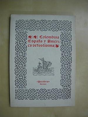 COLOMBINA, ESPAÑA Y AMERICA VETUSTISIMA: CATALOGO V DE