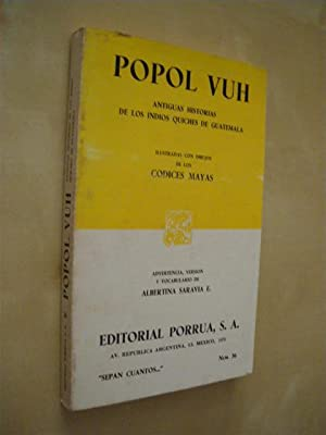 POPOL VUH: ALBERTINA SARAVIA