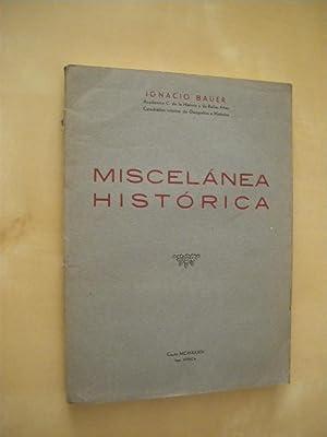 MISCELÁNEA HISTÓRICA: IGNACIO BAUER