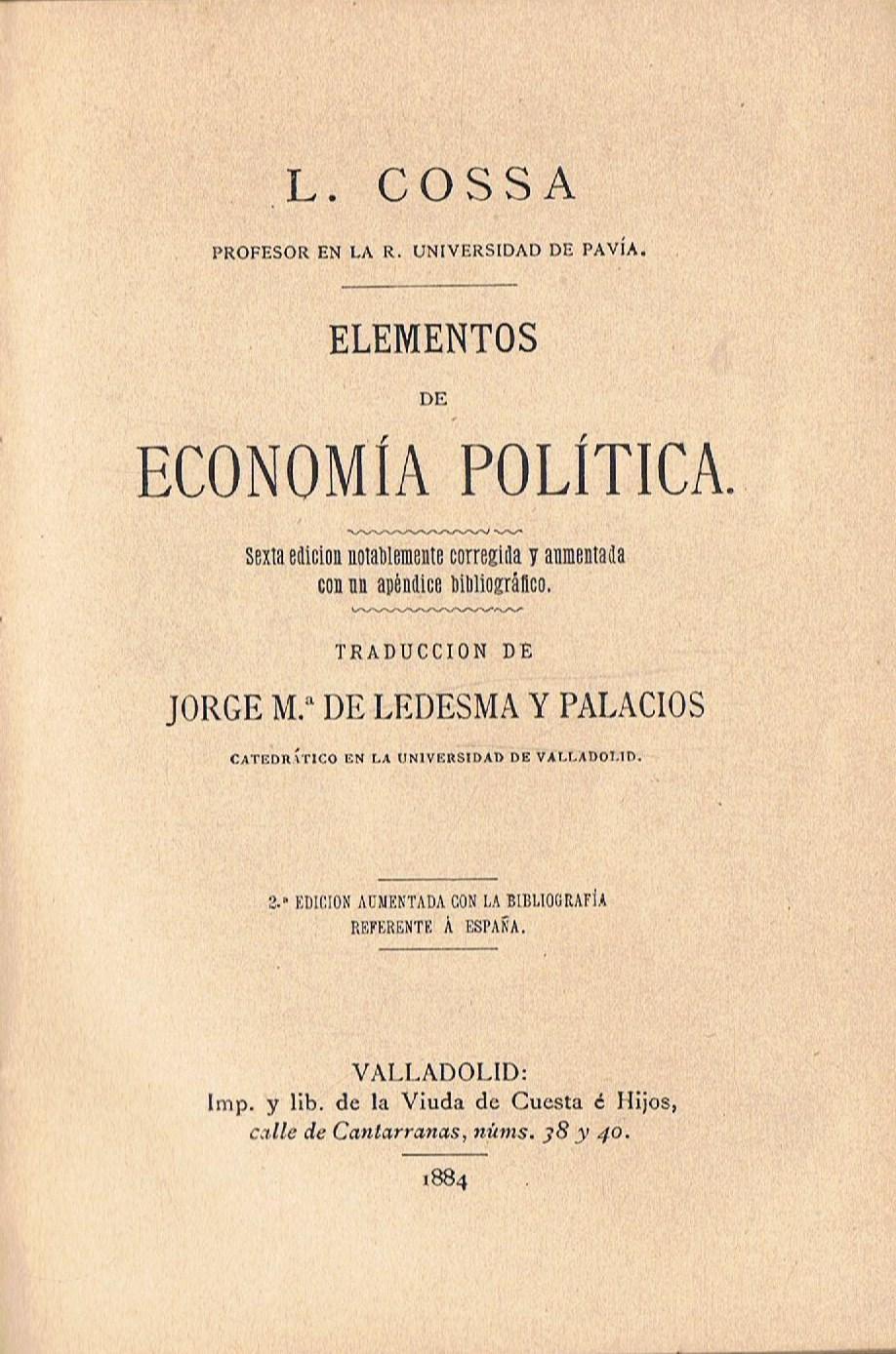 Elementos Economia Politica - AbeBooks