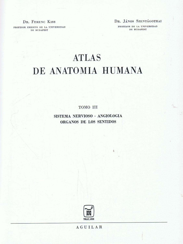 atlas de anatomia humana - Iberlibro