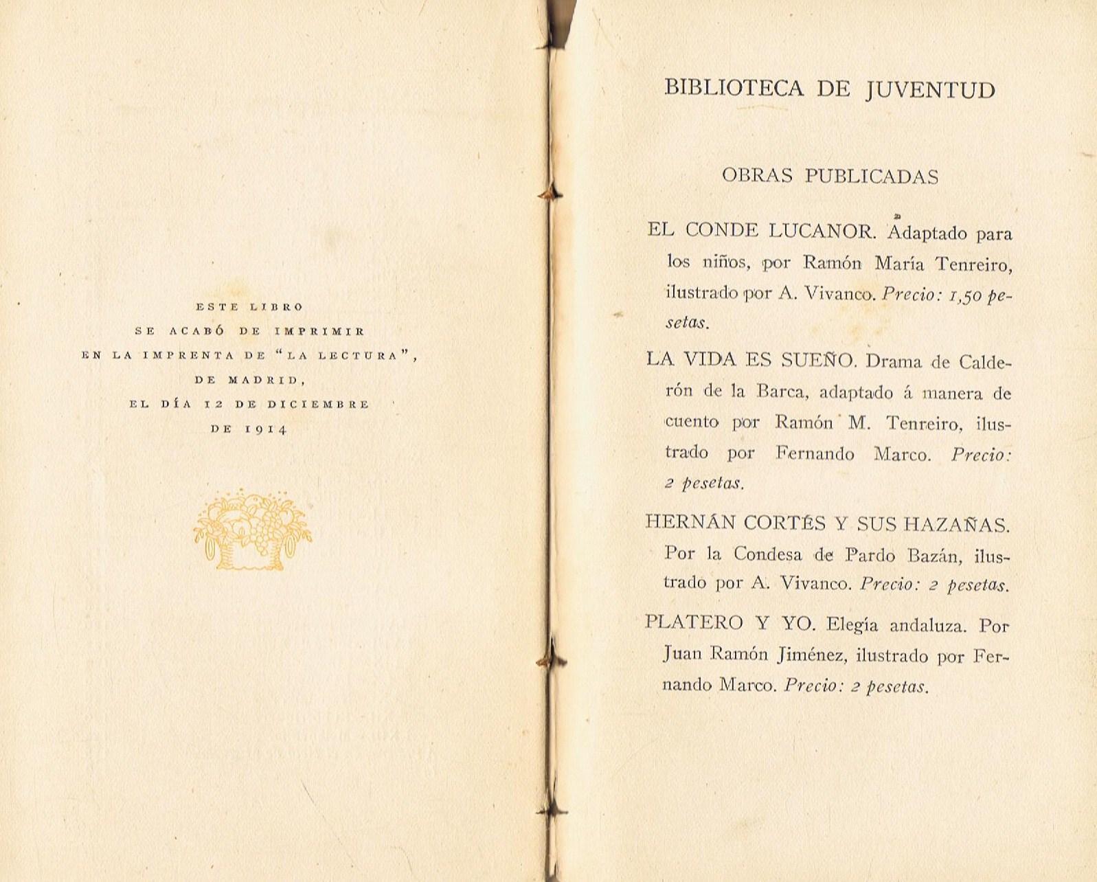 PLATERO Y YO. Elegía andaluza. 1ª edición. de Jiménez. Juan Ramón ...