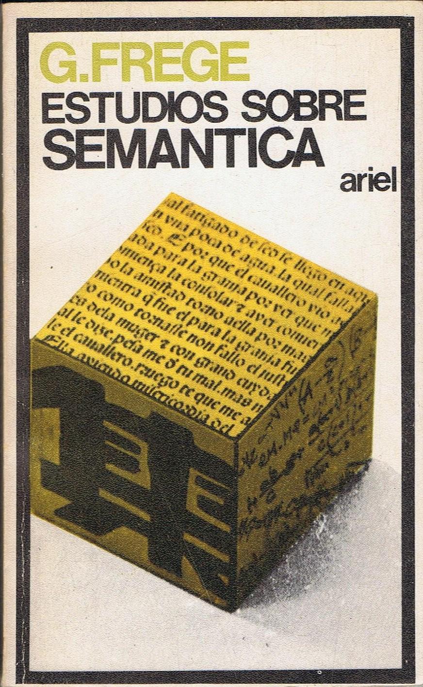 Resultado de imagen para frege estudios sobre semantica