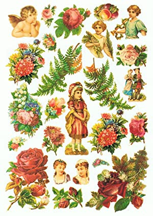 ALL THINGS BRIGHT & BEAUTIFUL. Victorian Charm Scrapbook: Recortables.