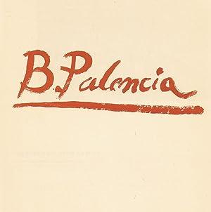 BENJAMÍN PALENCIA. Galería Biosca 1940 ¿ 1965: Chueca Gitia. Fernando, (...
