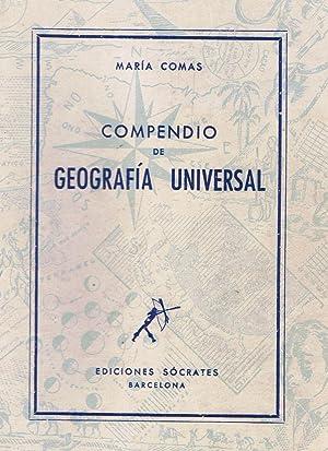 COMPENDIO DE GEOGRAFÍA UNIVERSAL.: Comas. María.