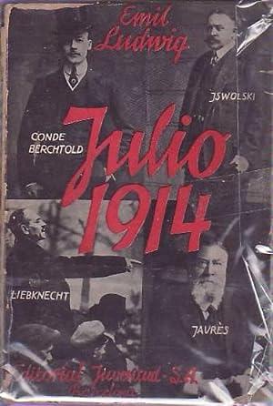 JULIO, 1914. EL MES TRÁGICO.: Ludwig. Emil,
