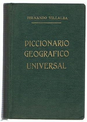DICCIONARIO GEOGRÁFICO UNIVERSAL. Contiene 40000 fichas de Océanos, Mares, ...