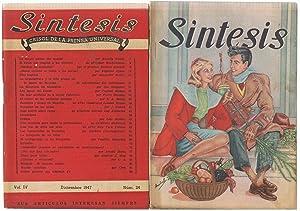 SÍNTESIS CRISOL DE LA PRENSA UNIVERSAL. 21 NÚMEROS: revista