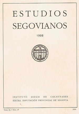 ESTUDIOS SEGOVIANOS. Tomo XL, Nº 97: AA.VV