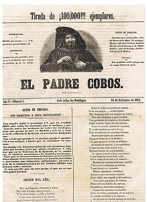 EL PADRE COBOS, periódico de Politica, Literatura y Artes.: Periódico