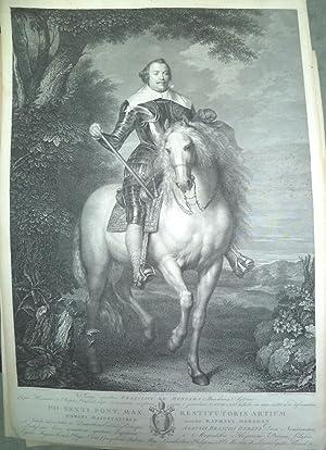 Retrato de: Imago Equestris FRANCISCI DE MONCADA Marchionis Aytonae (Francisco de Moncada, Marqu&...