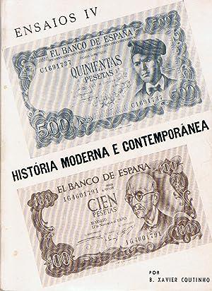 APONTAMENTOS DE HISTÓRIA MODERNA E CONTEMPORÁNEA: Coutinho. B. Xavier
