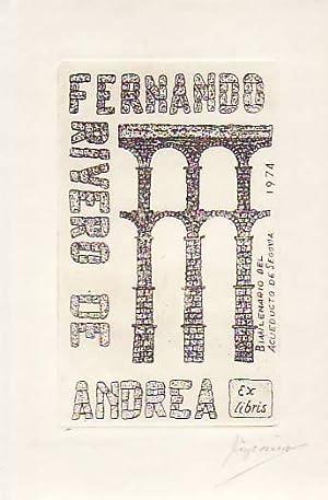 BIMILENARIO DEL ACUEDUCTO DE SEGOVIA: Exlibris