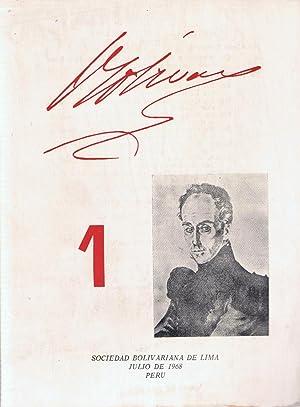 REVISTA BOLÍVAR. Núms. 1-2-3-4-5,6.: Tamayo Vargas. Augusto,