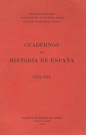 CUADERNOS DE HISTORIA DE ESPAÑA. XXIX ¿: Sánchez-Albornoz. Claudio, (director).