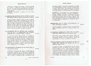 ANUARIO DE ESTUDIOS AMERICANOS. Tomo XXI. 1964: AA.VV