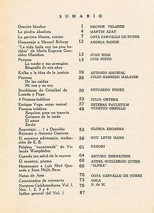 ALPHA. Revista literaria de los amigos del arte. Año I. Nº 4. Barranco. ...