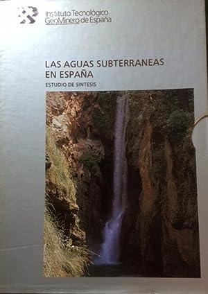 LAS AGUAS SUBTERRANEAS EN ESPAÑA. ESTUDIO DE SINTESIS. 2 Vols.: Navarro Alvargonzalez, ...